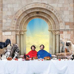 George en Eran worden Veganisten