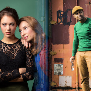 Beth & Flo en Samir Fighil