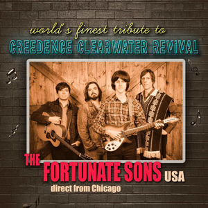 UITGESTELD: The Fortunate Sons (USA) - A Tribute To Creedence Clearwater Revival